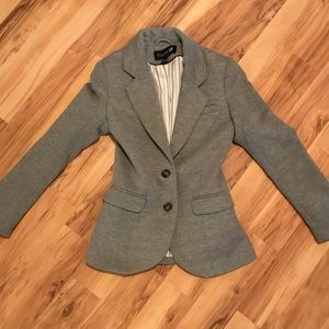 Fitted casual blazer